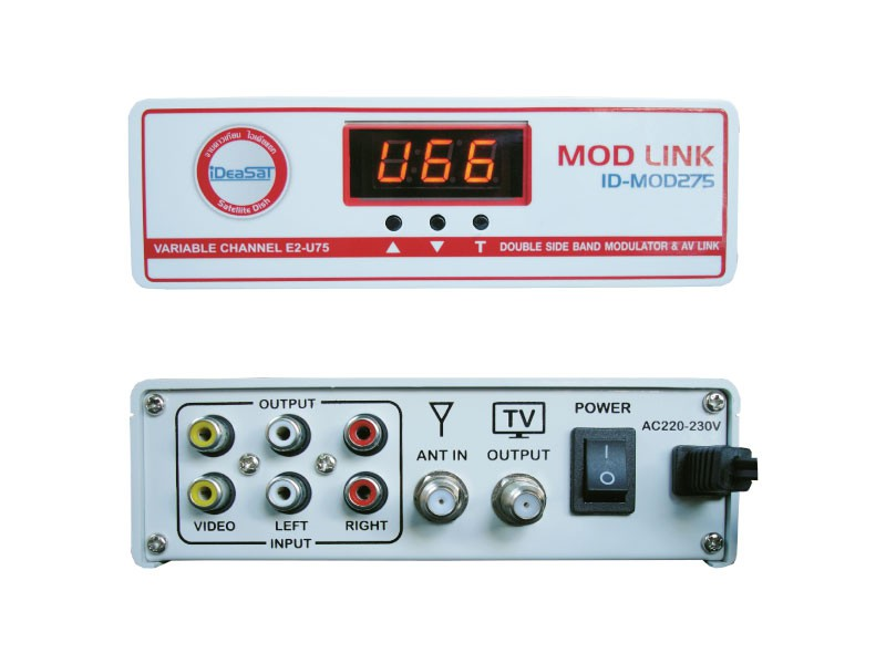 11) Analog TV Modulator