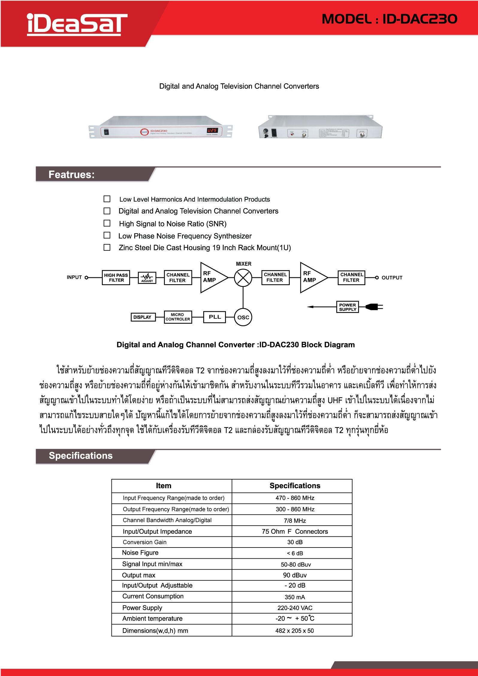 ID-DAC230
